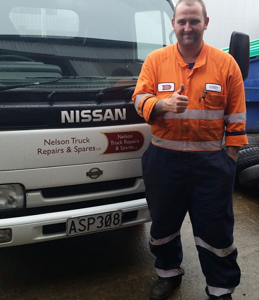 Introducing Our New Heavy Diesel Technician To Our Team!